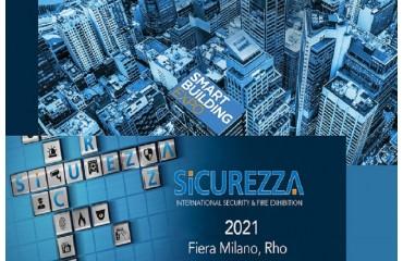 Sicurezza 2021 L'APPUNTAMENTO È DAL 17 AL 19 NOVEMBRE 2021